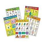 Eureka Dr. Seuss Beginning Concepts Bulletin Board Set, 5 Panels 17 x 24