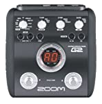 Zoom G2 Guitar Effects Pedal with Drum Machine by Samson