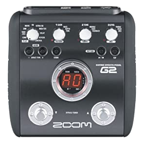 Zoom G2 Guitar Effects Pedal with Drum Machine
