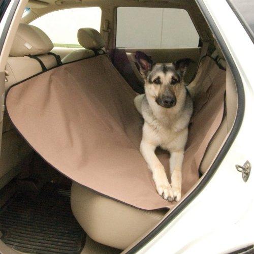 Car Seat Saver - Tan front-1020892