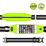 Running Belt Waist Pack,EOTW® Outdoor Sweatproof Reflective Belt Waist Bag for iPhone 6S/6/6 PLUS Transparent Touch Screen Window, Universal Sports Waist Belt with Additional Extender