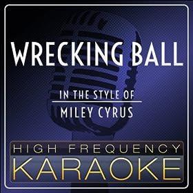 Wrecking Ball (Karaoke Version)