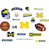 RoomMates RMK1053SCS University of Michigan Peel & Stick Wall Decals