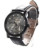 One Anime Piece Cosplay Watch Individual Tick Cool Black Watch Style A