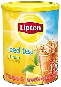 Lipton  Iced Tea Mix, Lemon Sweetened 10 qt (Pack of 6)