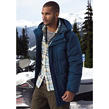 Essential Down Parka 104489: Adriatic Blue