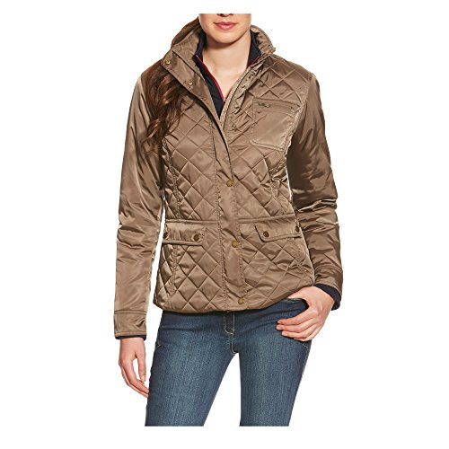 10017858 Ariat Women's Markham Quilted Jacket- Morel (Small) (Ariat Quilted Jacket compare prices)