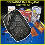 Go Pack-1 Belt Bug-Out Survival Kit