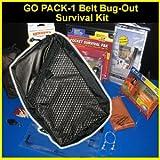 Go Pack-1 Belt Bug-Out Survival Kit