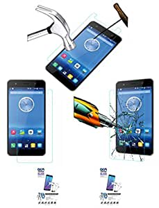 Acm Pack Of 2 Tempered Glass Screenguard For Lava Iris X9 Mobile Screen Guard Scratch Protector