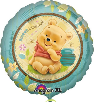 Party Destination 190390 Pooh Sweet Little One Foil Balloon