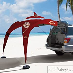 Tailgator Sunshade is a great way to throw shade at a summer tailgate party