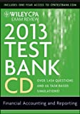 img - for Wiley CPA Exam Review 2013 Test Bank CD, Financial Accounting and Reporting by O. Ray Whittington (2012-12-03) book / textbook / text book