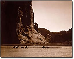 Canyon de Chelly Navajo Indians E.S. Curtis 11x14 Museum Silver Halide Photo Print