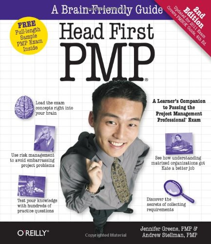 Head First Pmp: A Brain-Friendly Guide To Passing The Project Management Professional Exam front-467388