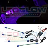 4pc. Purple LED Interior Underdash Lighting Kit thumbnail