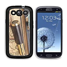 buy Msd Samsung Galaxy S3 Aluminum Plate Bumper Snap Case Vintage Brass Telescope On Old Antique Map Image 22102877