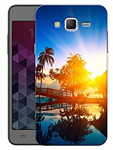 """Humor Gang Beautiful Sunset Printed Designer Mobile Back Cover For """"Samsung Galaxy Grand 2"""" (3D, Matte, Premium Quality Snap On Case)"""