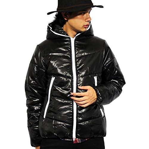 (エイト) 8(eight)12color 中綿 ダウンジャケット ナイロン ブルゾン アウター 防寒 アウトドア XL ブラック