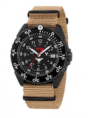 KHS Tactical orologio uomo Enforcer Black Titan KHS.ENFBT.NT