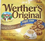 Werther's Original - Coffee Caramel - Sugar Free Hard Candies by storck [Foods]