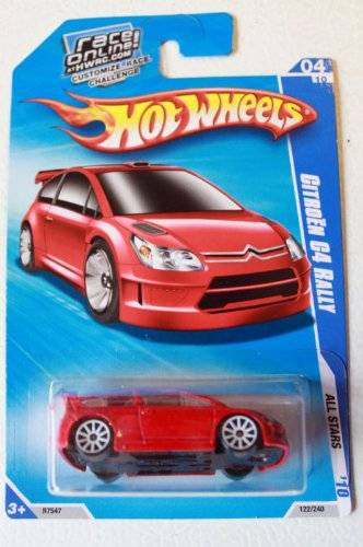 Hot Wheels Citroen C4 Rally 2010