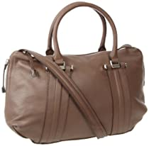 Hot Sale B. MAKOWSKY Mission ST Satchel,Truffle,One Size