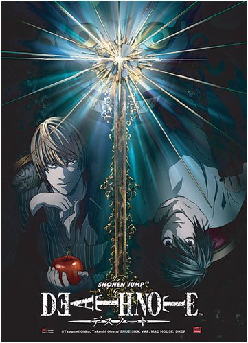 Death Note: Light VS L Anime Wall Scroll