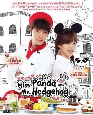 Miss Panda and Hedgehog (Korean Drama with English Sub, 4DVD, 16 Episodes)