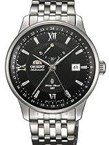 Orient 22-Jewel Automatic GMT Watch with Hand Wind, Power Reserve DJ02002B
