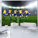 Non-woven !! Top !! Photo wallpaper ! Murals ! Wall Mural Photo ! 250x175 cm - Football 10110905-30 ! Free glue for each wallpaper !