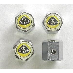 Lotus Anti-theft Car Wheel Tire Valve Stem Caps
