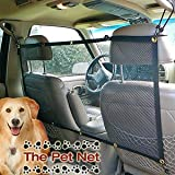 "The Pet Net Brand Safety Barrier - NEW vehicle barrier for dogs, Adjustable & Affordable! 47"" W x 24"" T"
