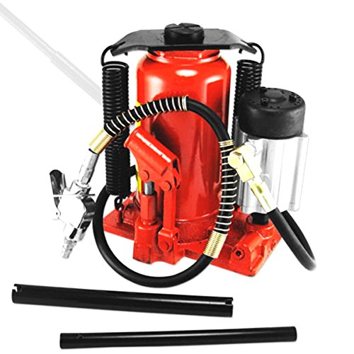 20 Ton Air / Manual Pneumatic Hydraulic Bottle Jack Lift Repair Tool (3 Ton Jack Case compare prices)