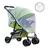 Cochecito neta ezykoo bebé mosquitera contra insectos para bebés portadores de malla de seguridad, apto para la mayoría de bebé, carritos, cochecitos, sillas de coche, mesas