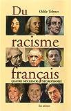 echange, troc Odile Tobner - Du racisme français