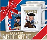 Rush Limbaugh Two If By Tea Premium Patriotic Gift Set Limited edition