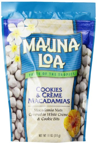 Mauna Loa Macadamias Nuts, Cookies and Creme, 11 Ounce (Cream Nut compare prices)