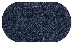 Summer Storm Blue - 4\'x6\' OVAL Custom Carpet Area Rug