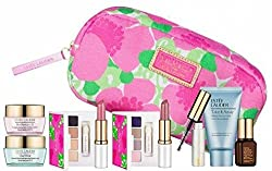 Estee Lauder Spring 7pc Skincare Makeup Gift Set with Cosmetic Bag Macys Exclusive