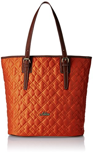 Addons Quilted Women's Tote Bag (Orange)