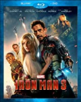 Iron Man 3 (Blu-ray / DVD Combo Pack) by Walt Disney Studios Home Entertainment