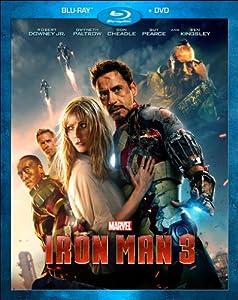 Iron Man 3 (Blu-ray / DVD Combo Pack) by Walt Disney Studios Home Entertainment