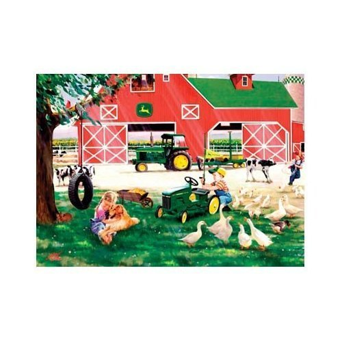 Cheap Fun Great American Puzzle Factory John Deere Little Farmhands 1000 Piece Jigsaw Puzzle (B000O3RPRY)