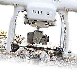 Mudder Carbon Fiber Gimbal Guard for DJI Phantom 3 - Save Gimbal From Crash