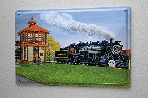 cartel-de-chapa-decoracion-modelo-del-ferrocarril-la-estacion-de-tren-de-vapor-de-la-locomotora-nost