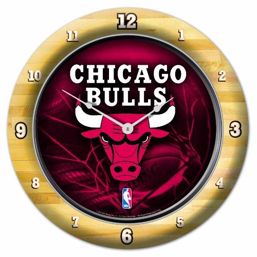 NBA Chicago Bulls Game Time Clock