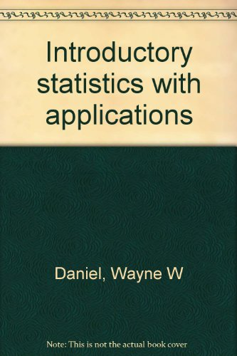Introductory statistics with applications