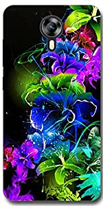 SEI HEI KI Back cover for Micromax Canvas Xpress 2 E313-Multicolor