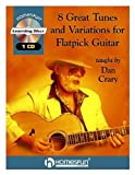 img - for 8 GREAT TUNES AND VARIATIONS FOR FLATPICK GUITAR BK/CD by Crary, Dan (2001) Plastic Comb book / textbook / text book